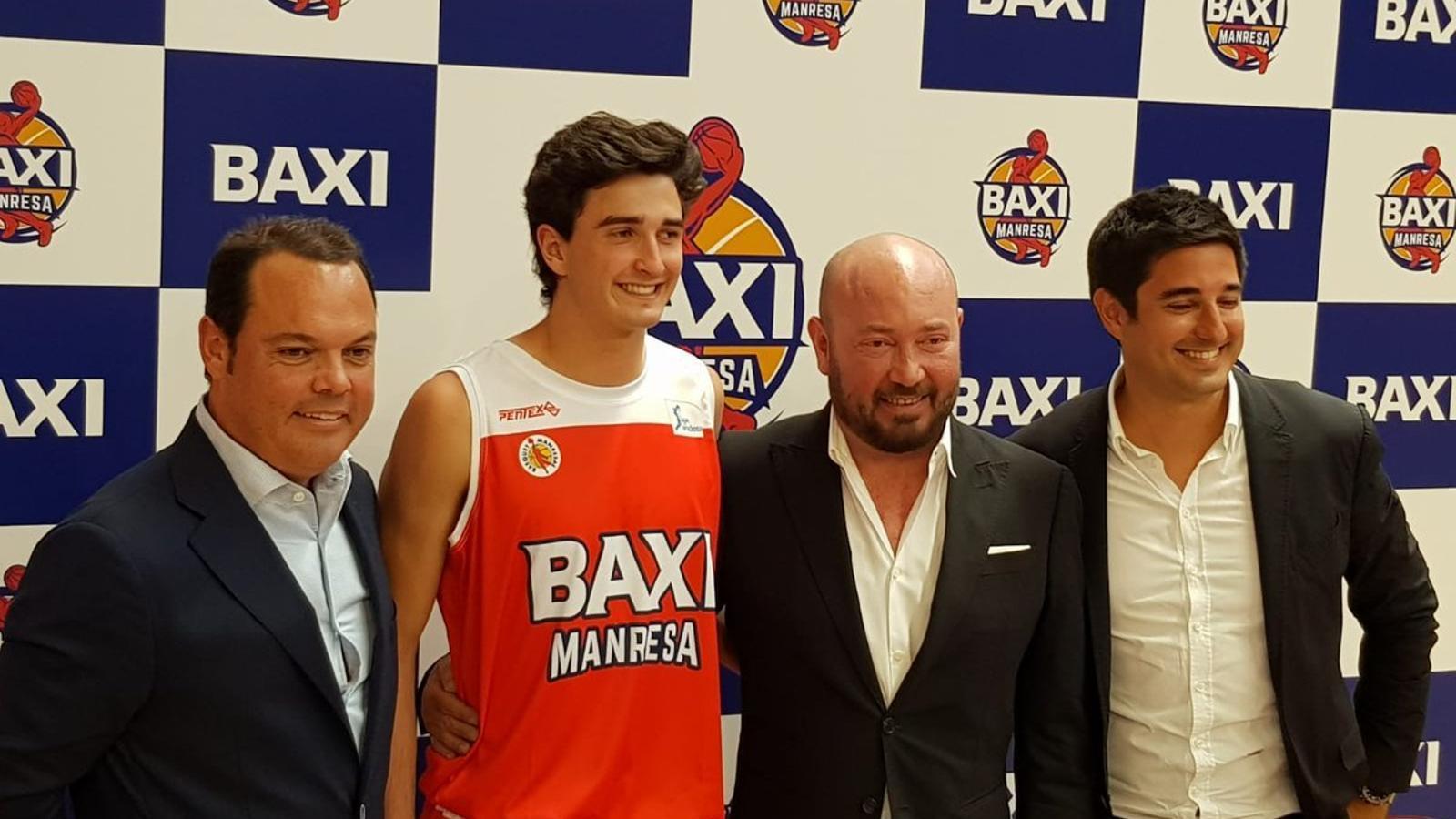 Baxi, nou patrocinador del Bàsquet Manresa