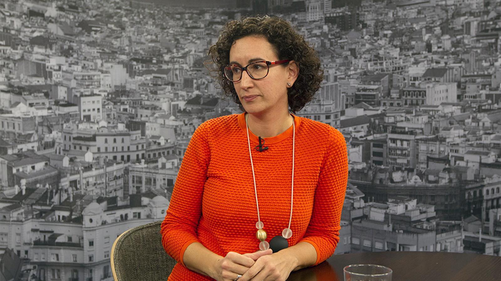 Entrevista de David Miró a Marta Rovira