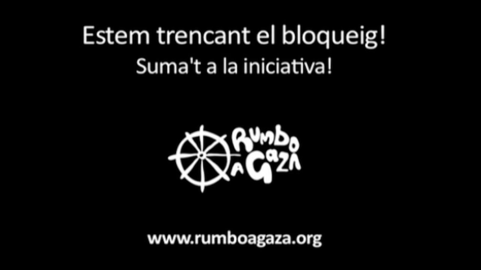'Rumb a Gaza', vídeo de suport a la Flotilla de la Llibertat