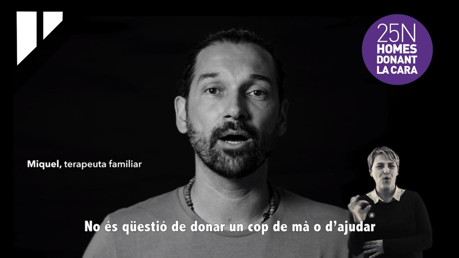 Vídeo de la campanya contra la violència de gènere