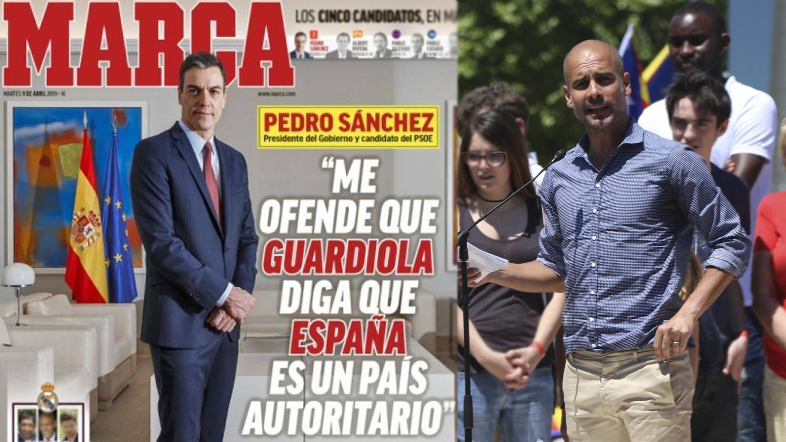 L'anàlisi d'Antoni Bassas: 'La policia patriòtica delinqueix però a Sánchez l'ofèn el que va dir Guardiola el 2017'