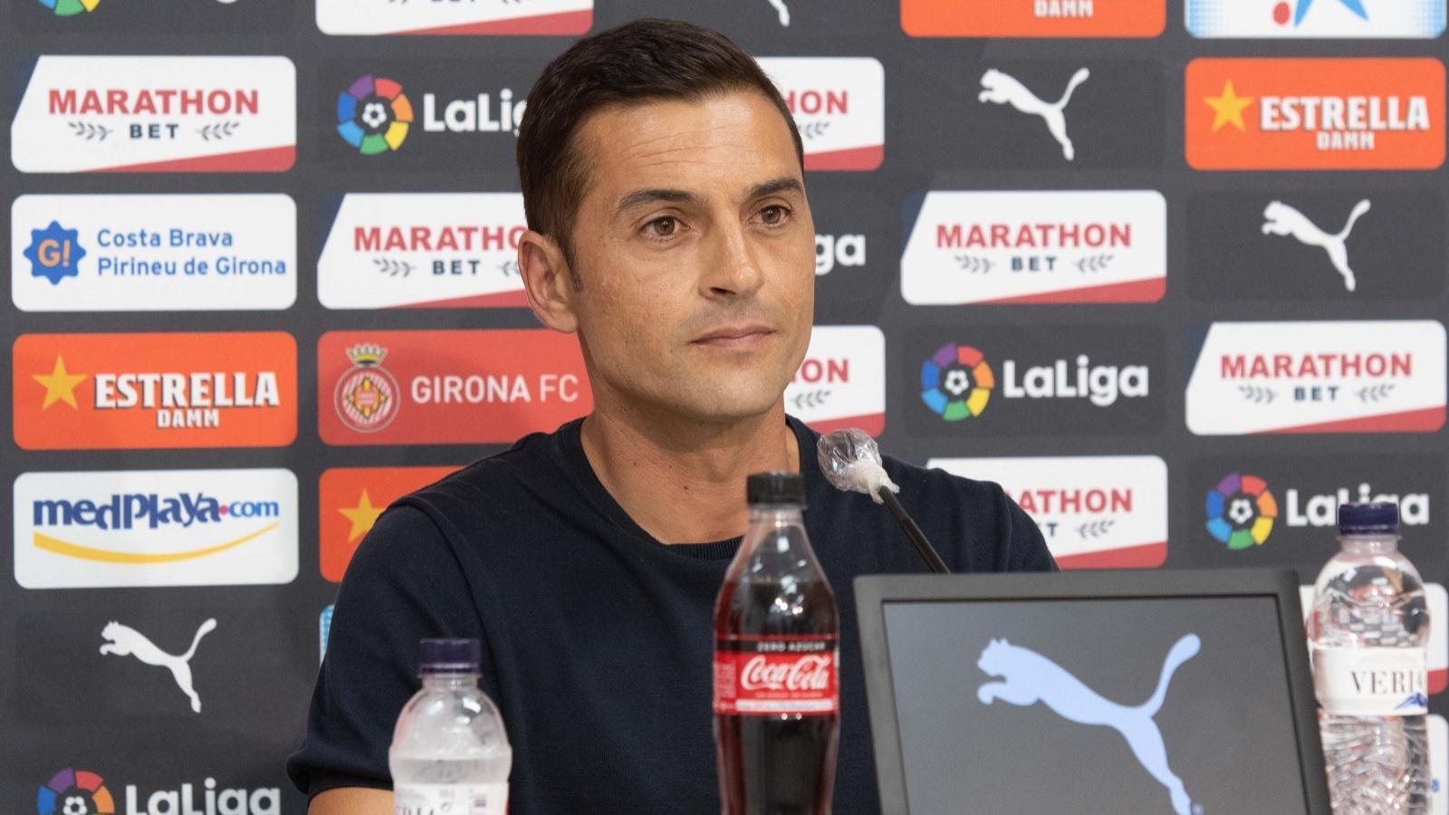 Francisco Rodríguez, entrenador del Girona