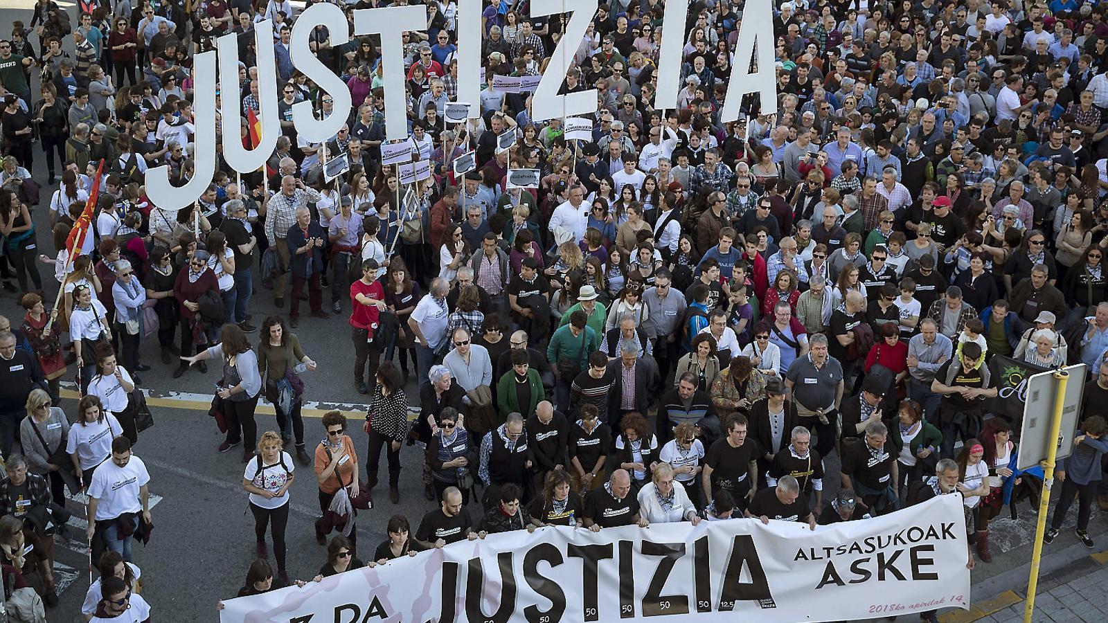 La fiscalia ja no veu terrorisme en els joves d'Altsasu i demana al Suprem que ratifiqui la sentència