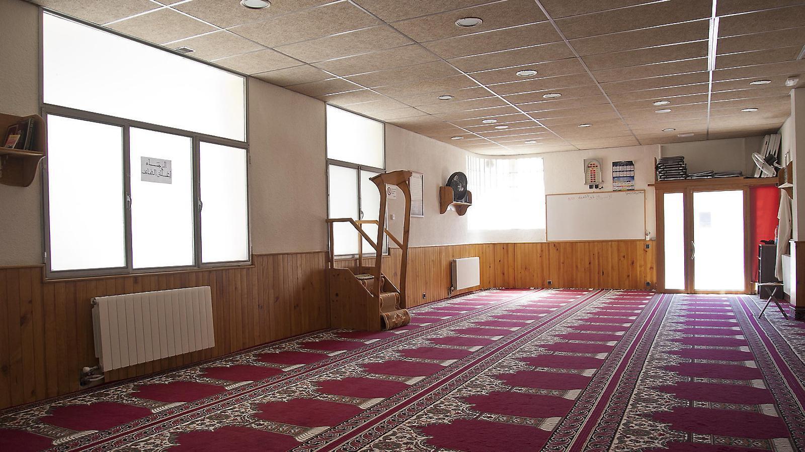 Imatge de l'oratori de Ripoll on va treballar d'imam Abdelbaki es Satty.