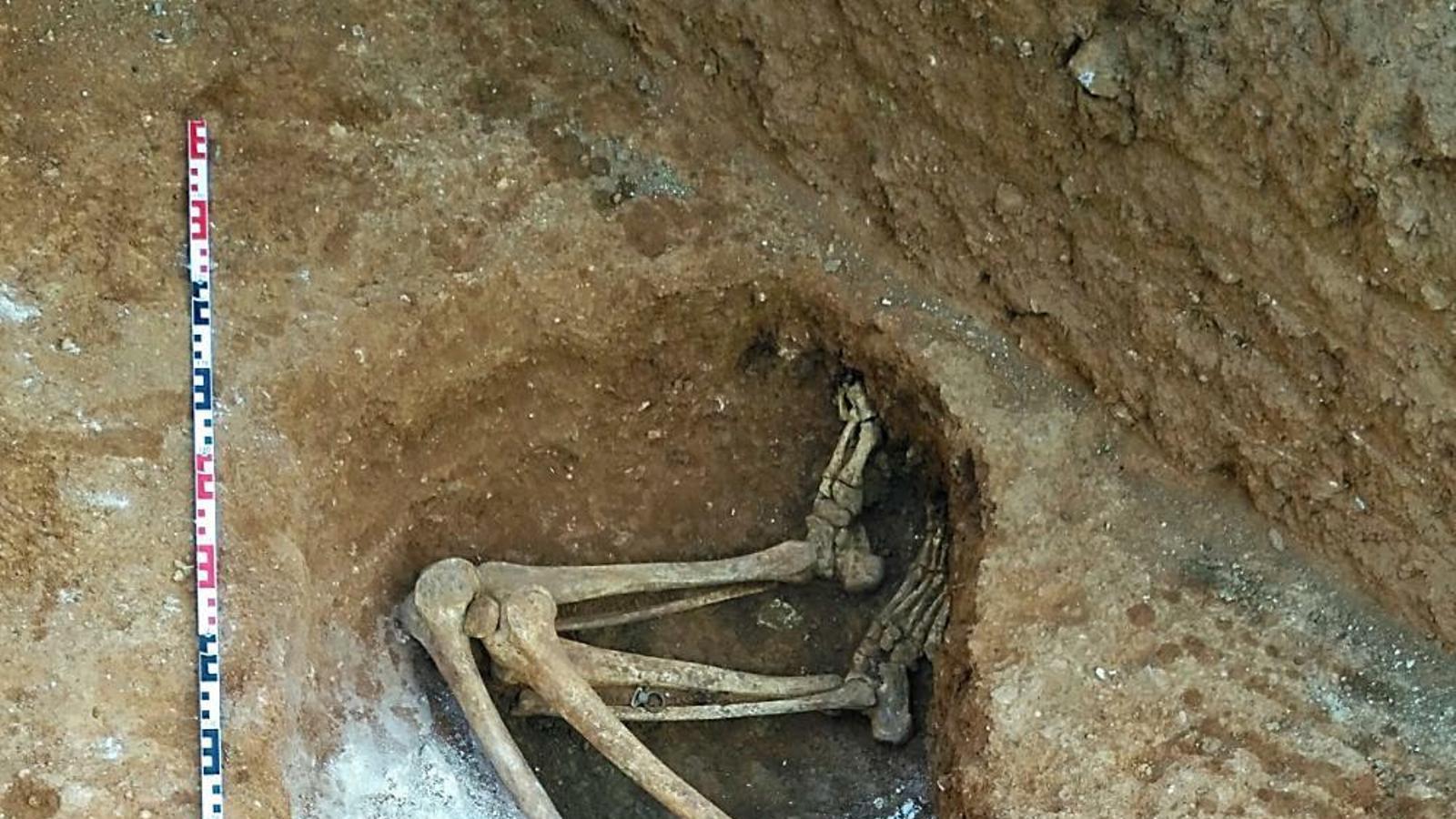 Troben dos joves executats durant la Guerra Civil a Sarrià