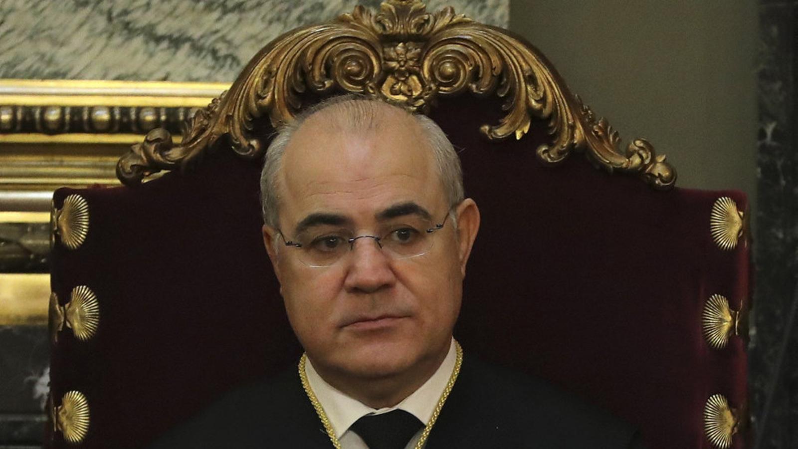 El jutge del Suprem Pablo Llarena en una imatge d'arxiu.