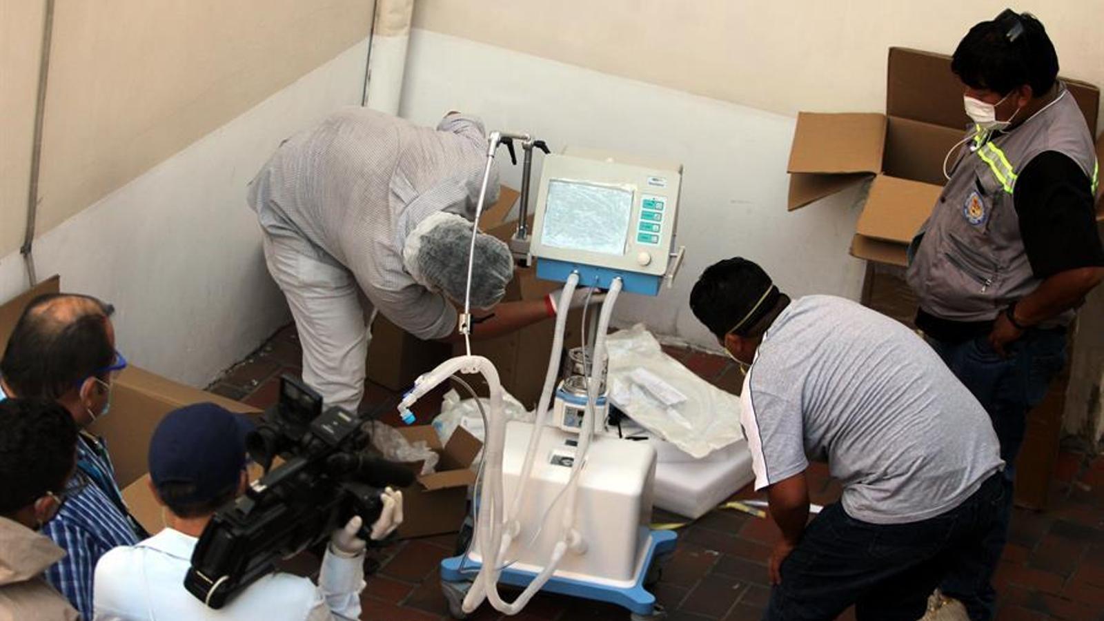 El govern bolivià va pagar els respirador a un preu molt superior al real