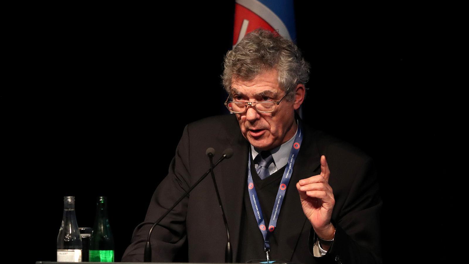 Ángel María Villar, president de la RFEF.
