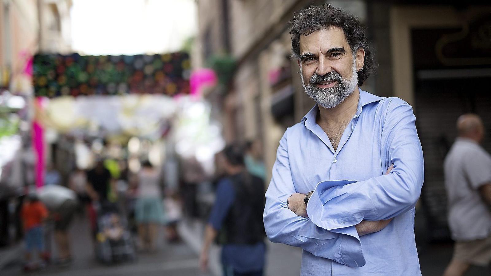 """Jordi Cuixart: """"L'independentisme comet  un greu error quan creu  que és l'eix central"""""""