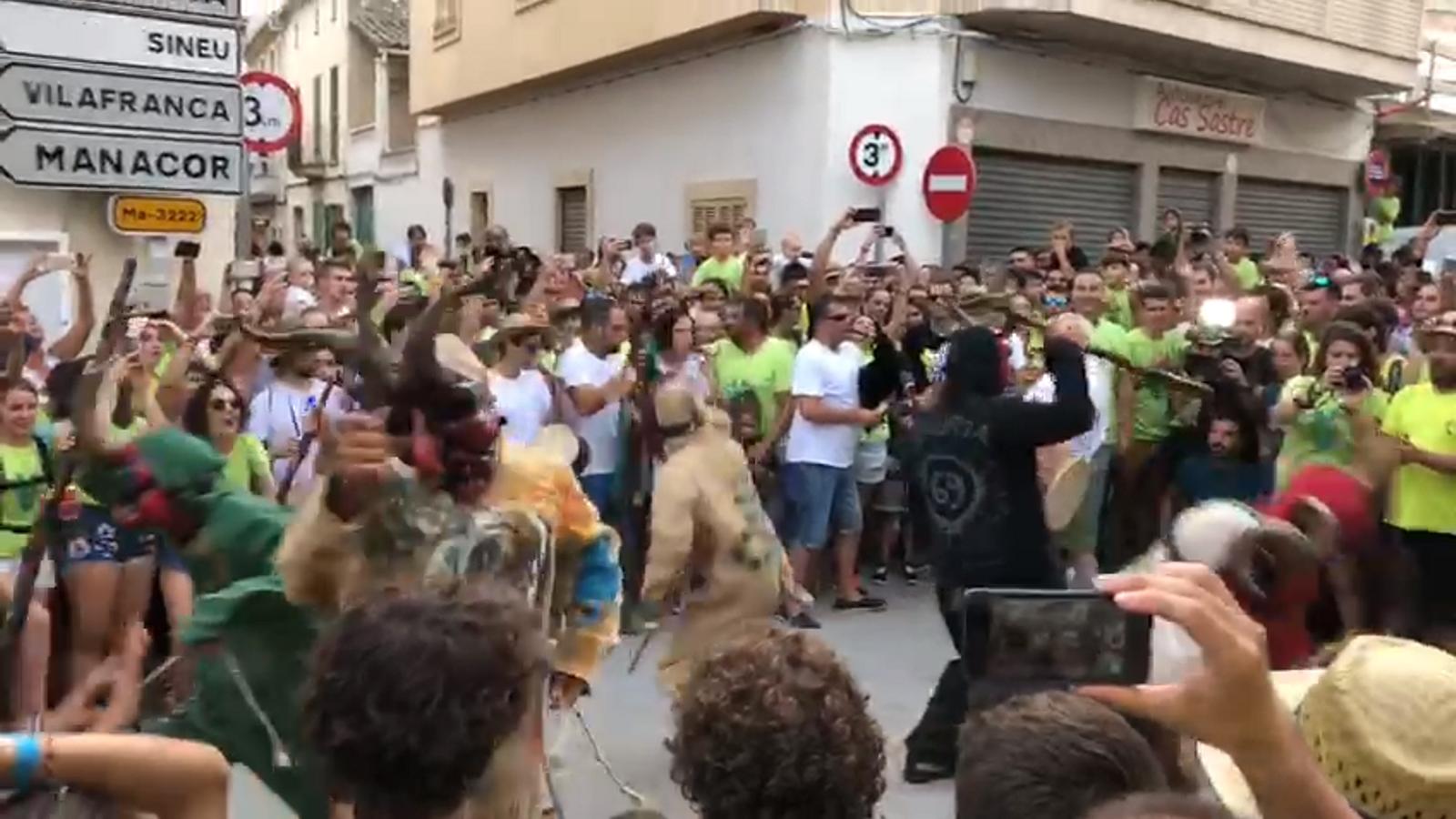Vídeo de la condemna a Sant Joan.
