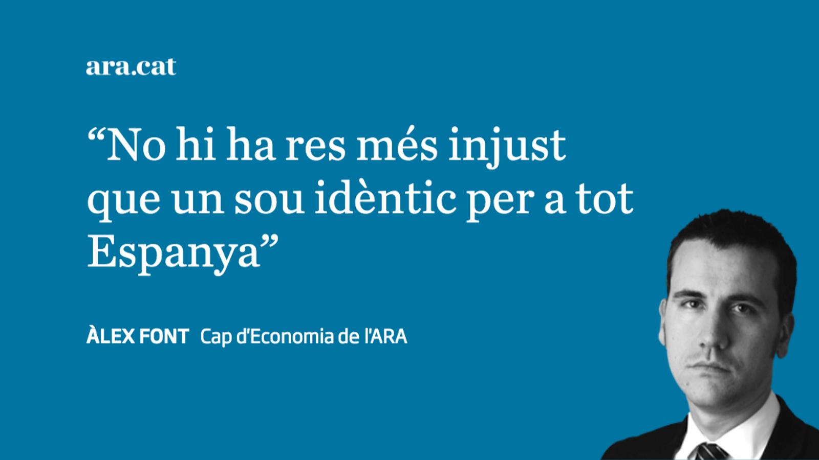 Per un salari mínim català
