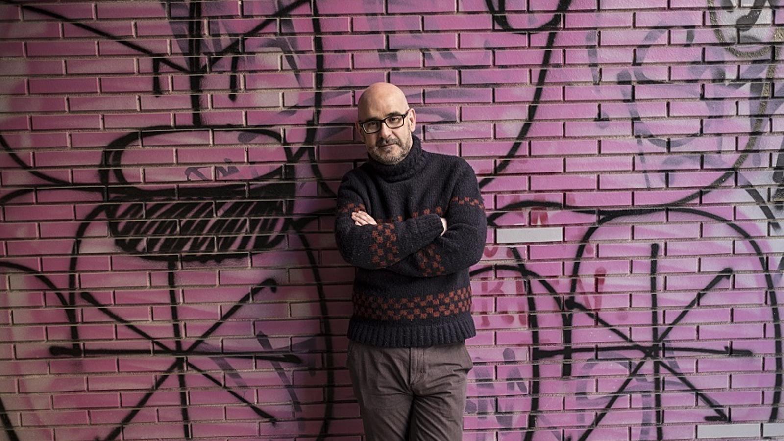 L'escriptor gallec Francisco Castro