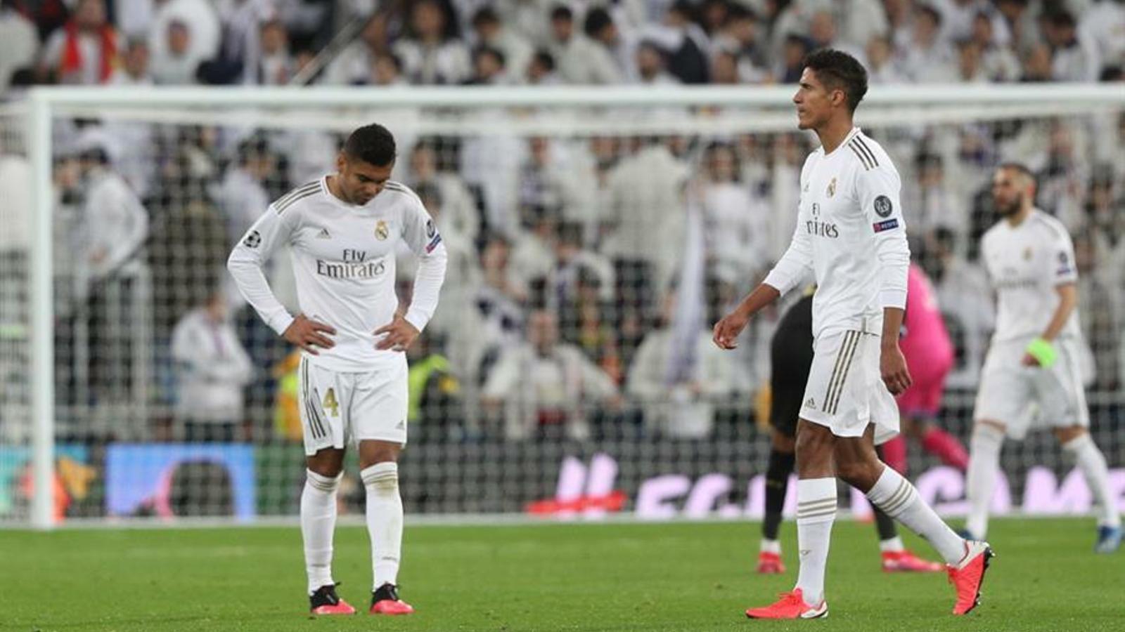 El Madrid va ser derrotat pel Manchester City