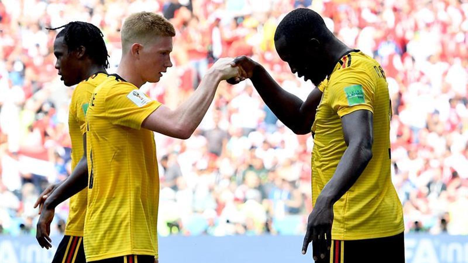 Bèlgica goleja contra Tunísia i espanta als seus rivals (4-1)