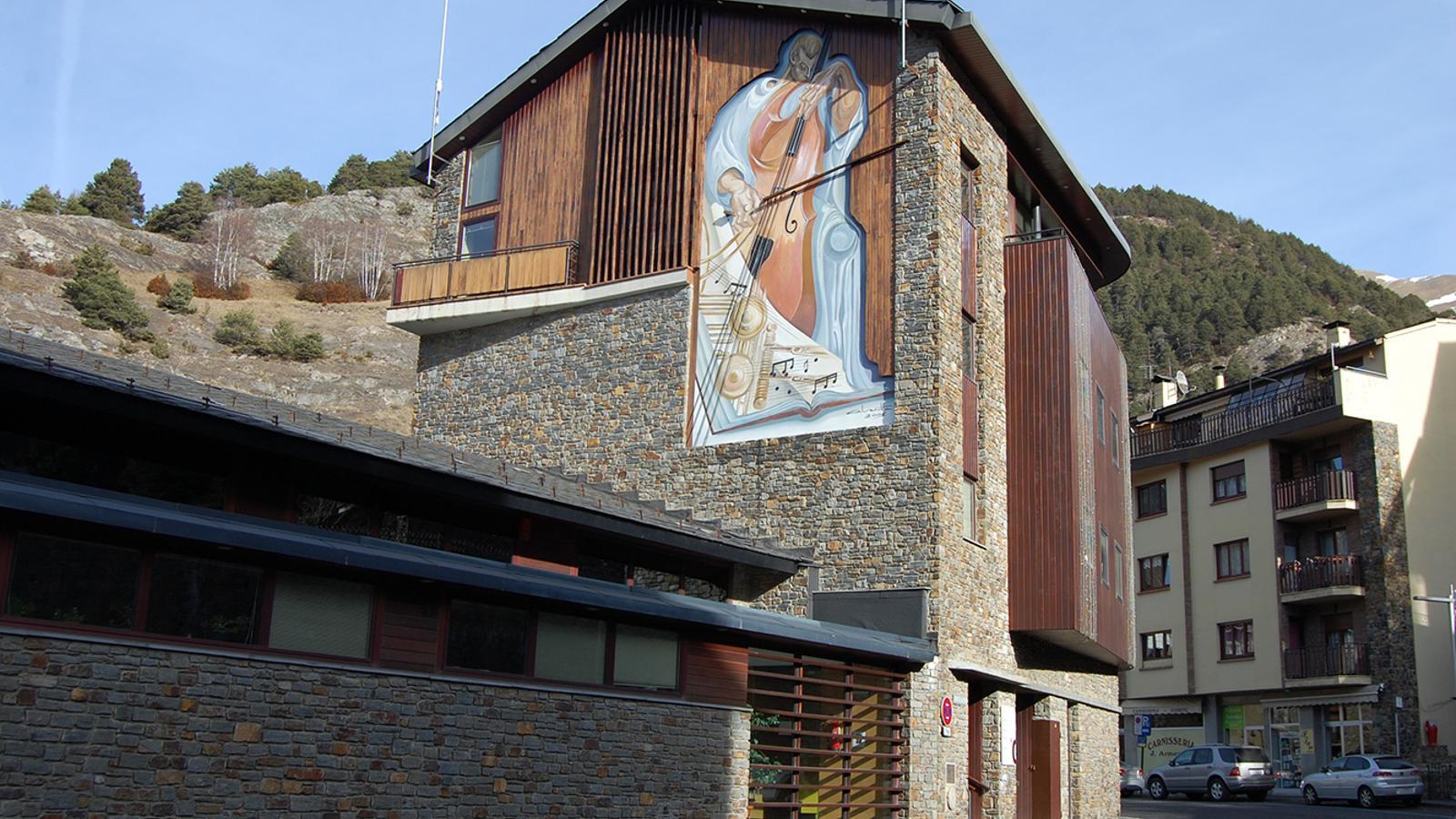 Una imatge de la Casa pairal d'Ordino. / ARXIU ANA