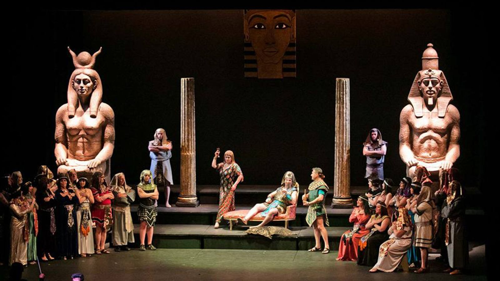 Un moment de l'espectacle 'La Corte del Faraón'. / FACEBOOK ANDORRA LÍRICA