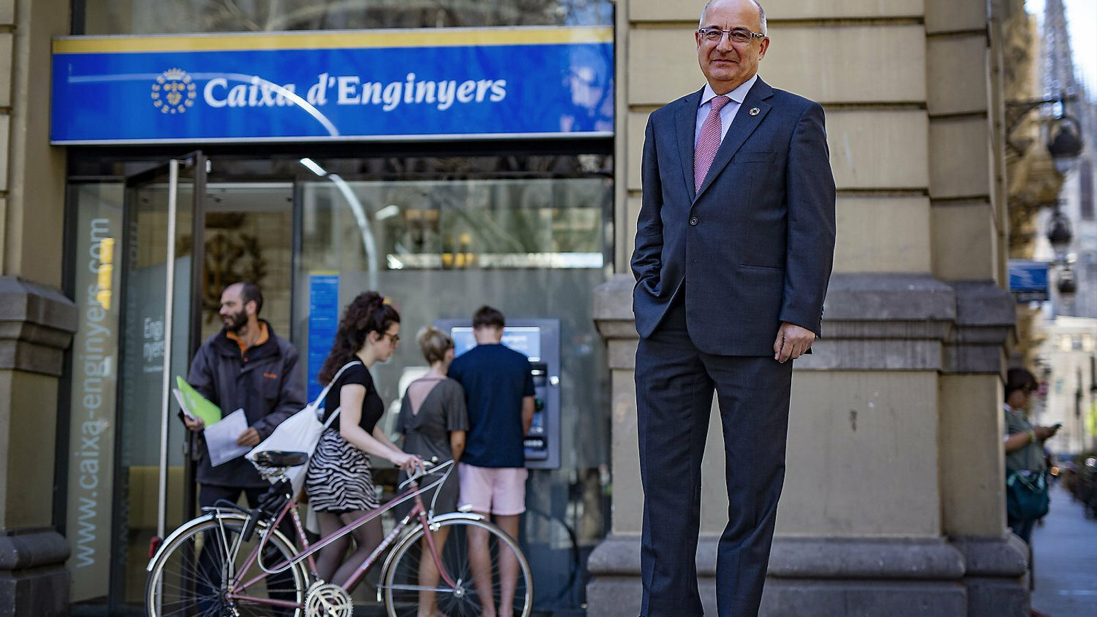 REPORTATGE: Caixa  d'Enginyers, l'entitat  que va renéixer l'1-O