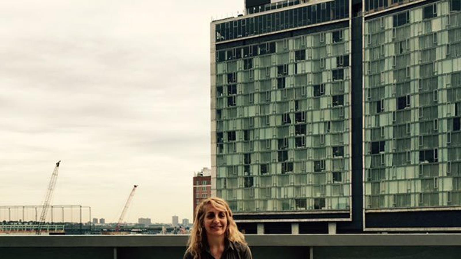 """Aquest mes de juny, a Nova York, Mercè Boronat assegura que ha fet el viatge de la seva """"nova vida""""."""