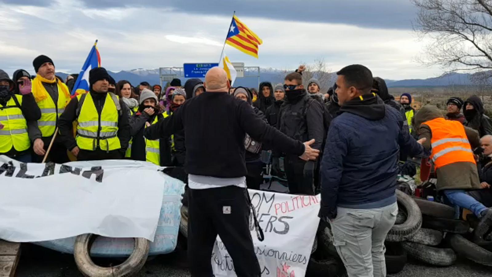 Els CDR tornen a portar la protesta a les carreteres