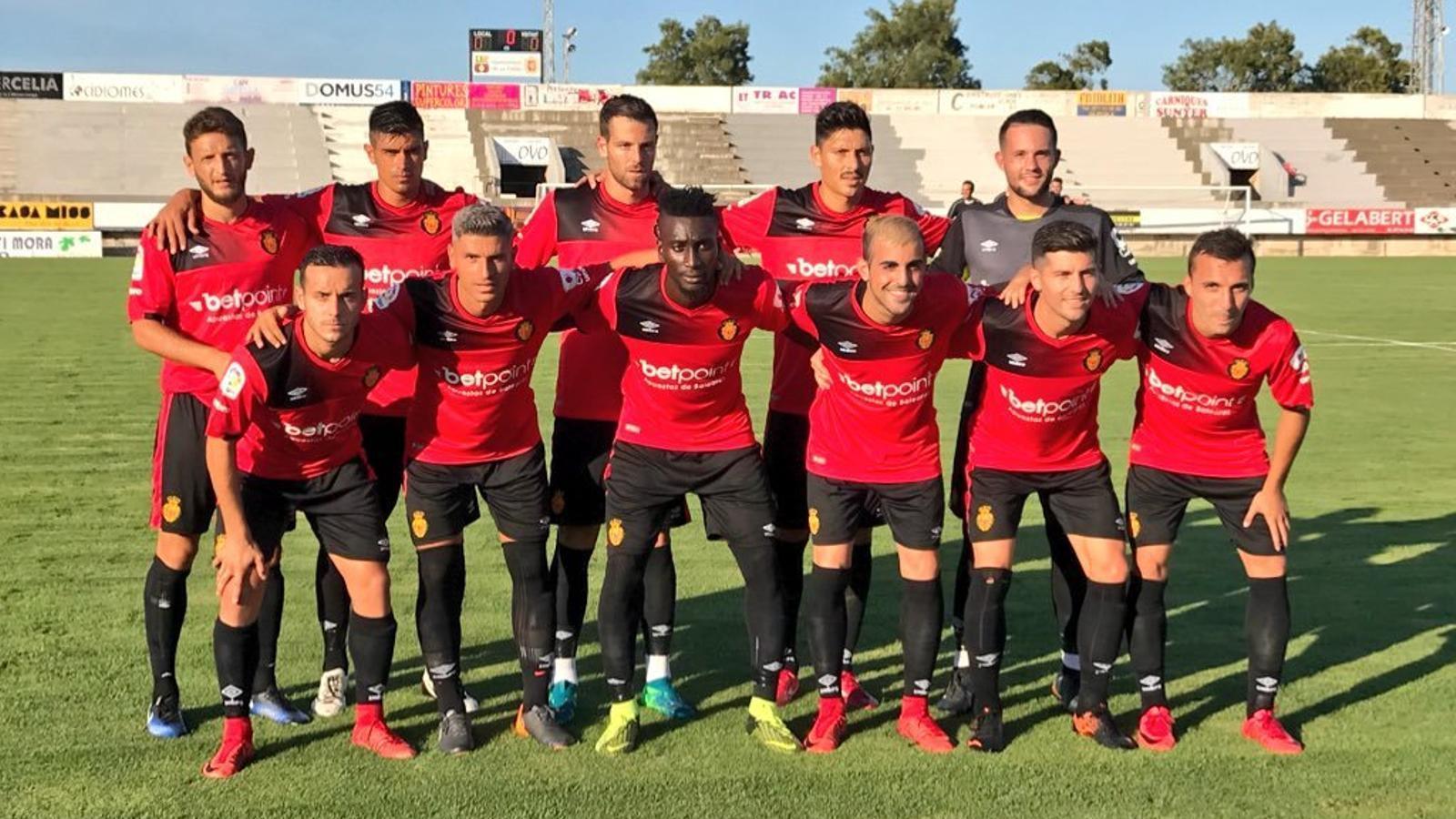 El RCD Mallorca guanya 5-0 al Fenalitx
