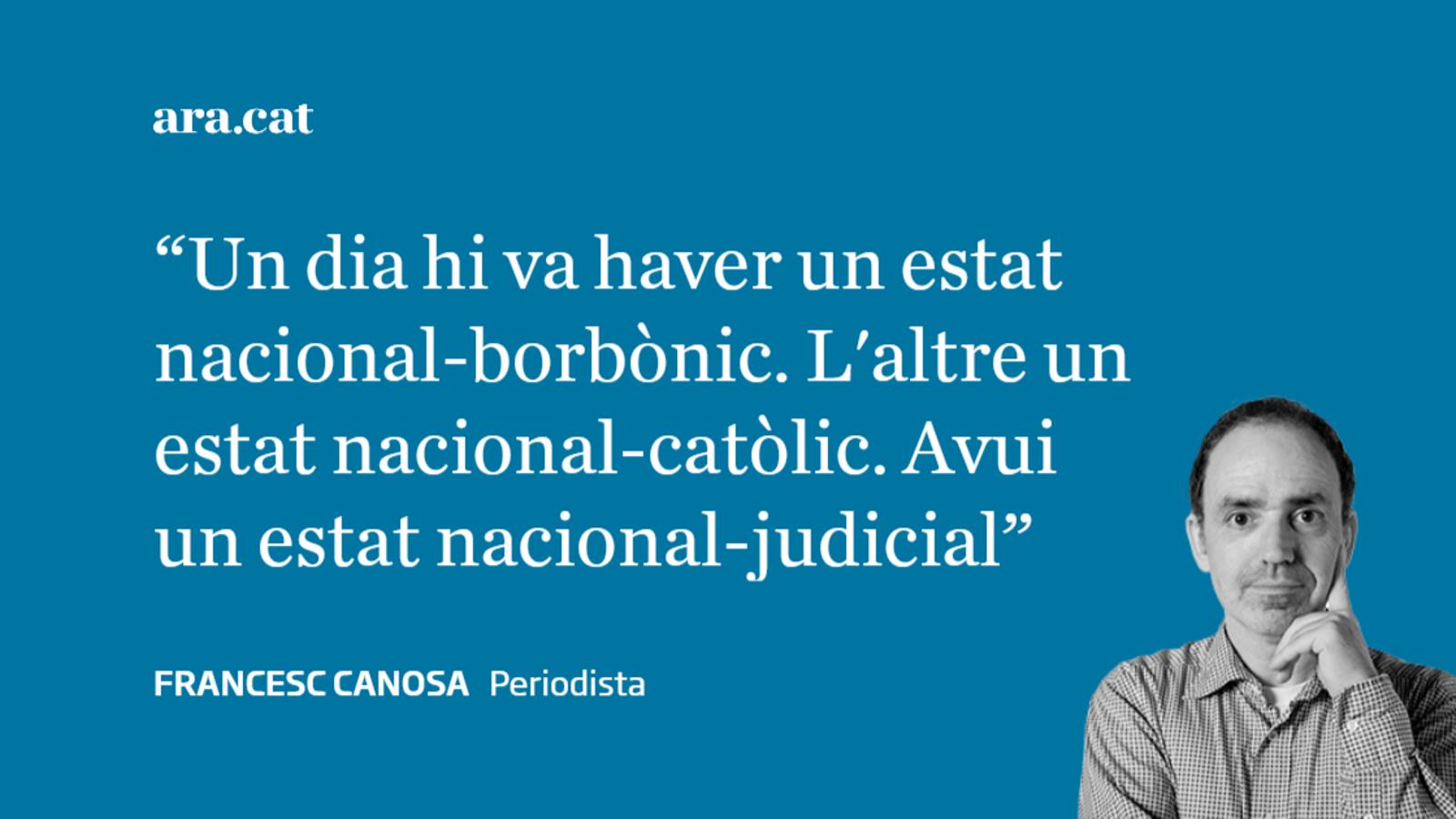 Nosaltres, la sentència, Franco