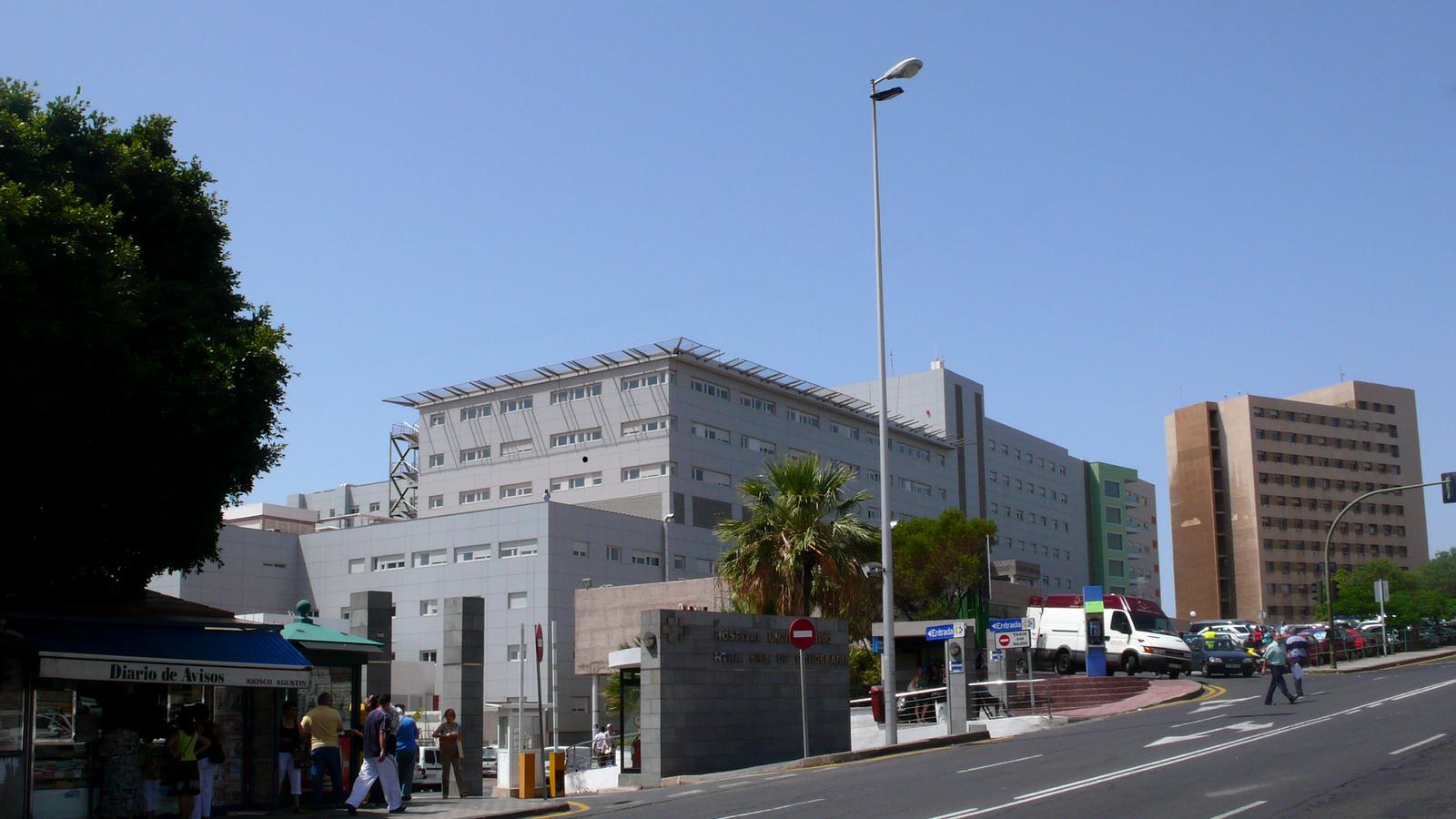 Hospital Universitario Nuestra Señora de Candelaria, a Tenerife