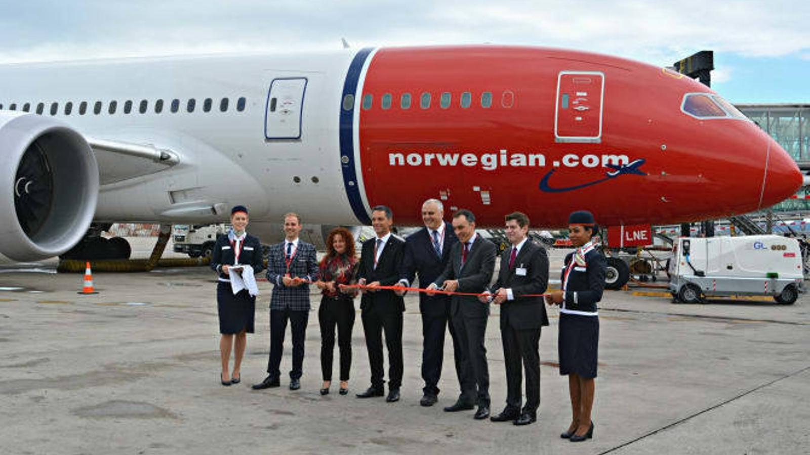 Norwegian enlaira el seu primer 'low cost' als EUA des del Prat