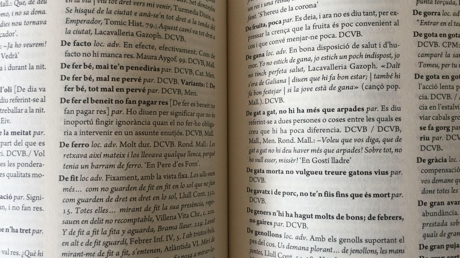 """Del """"a jeure falta gent!"""" a """"xupar l'espina a una cosa"""", es presenta el 'Corpus de fraseologia de les Illes Balears'"""