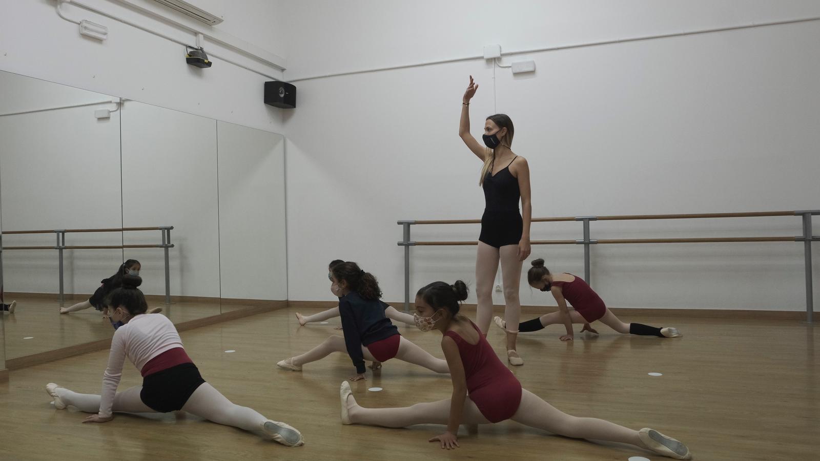 L'escola de dansa La Filigrana aquest dilluns a la tarda
