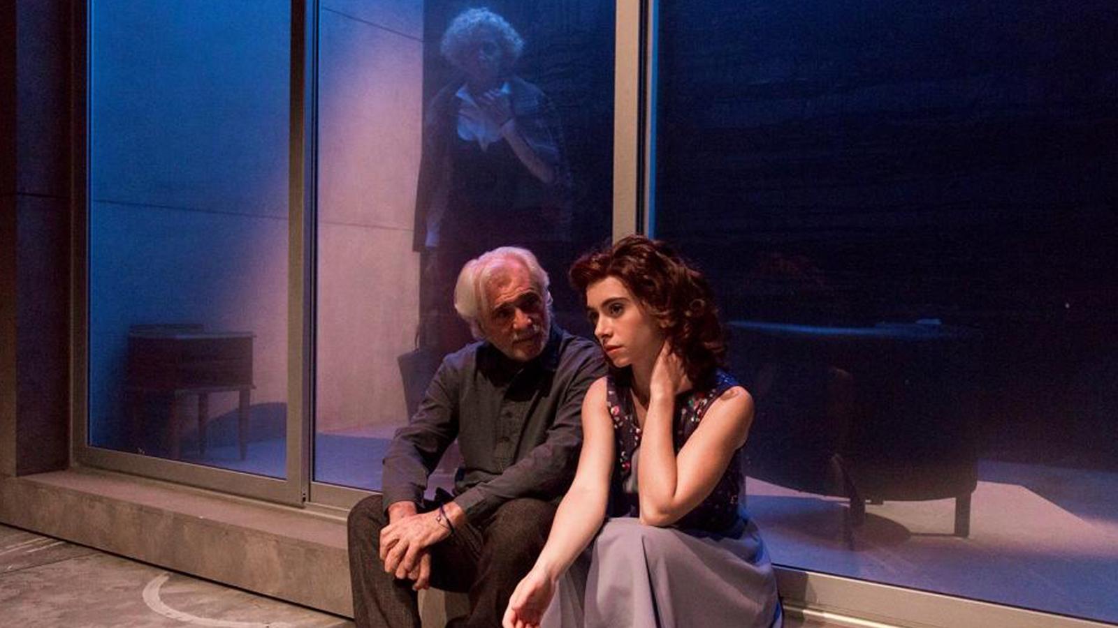 Una de les escenes de l'obra 'Alba, el jardí de les delícies'. / ENA