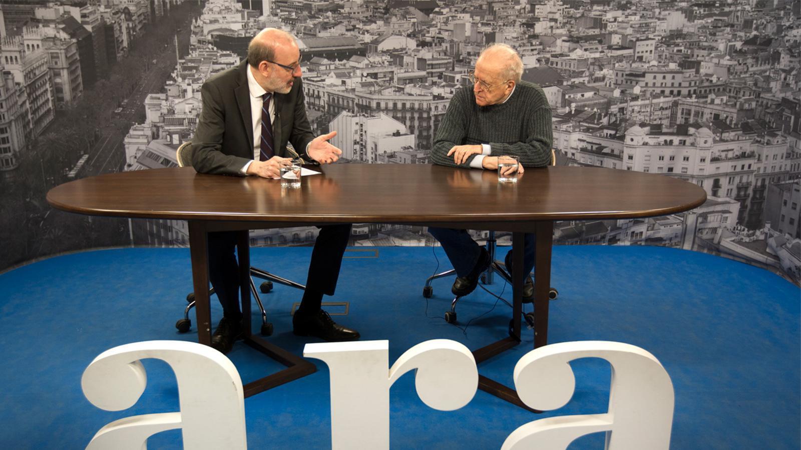 Entrevista d'Antoni Bassas a José Martí Gómez