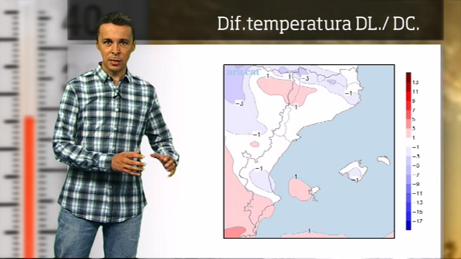 La méteo en 1 minut: temperatures de canícula