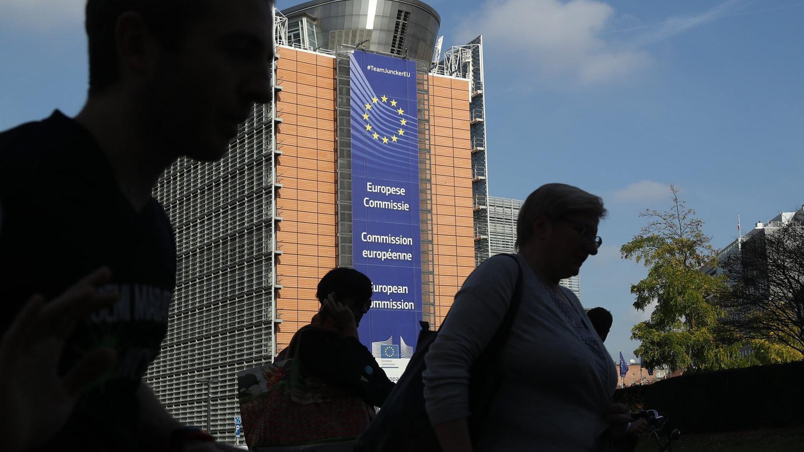 Edifici de la Comissió Europea a Brussel·les.