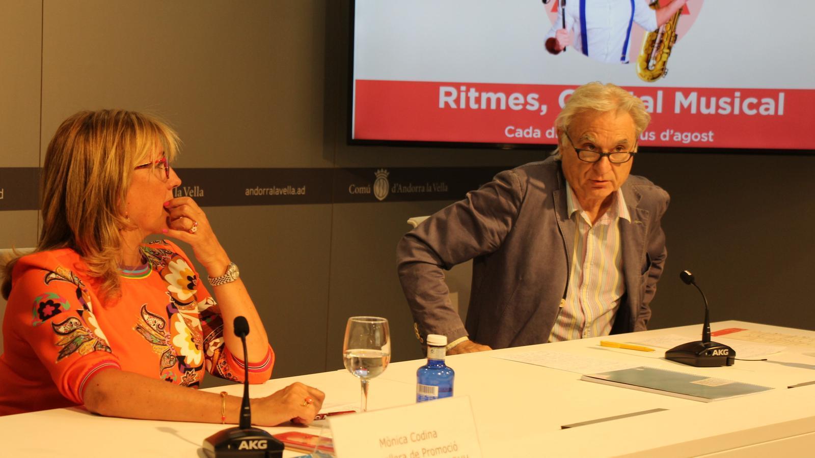 Mònica Codina, consellera de Promoció Turística i Comercial i Recursos Humans. / M. R. F. (ANA)