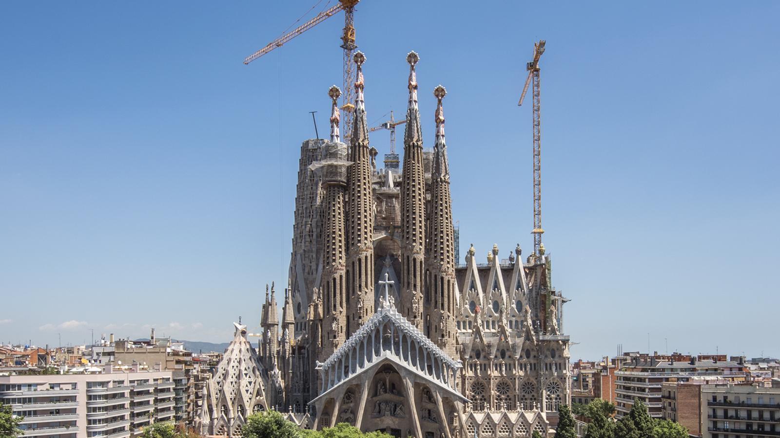 La Sagrada Família regularitza les obres després de 133 anys