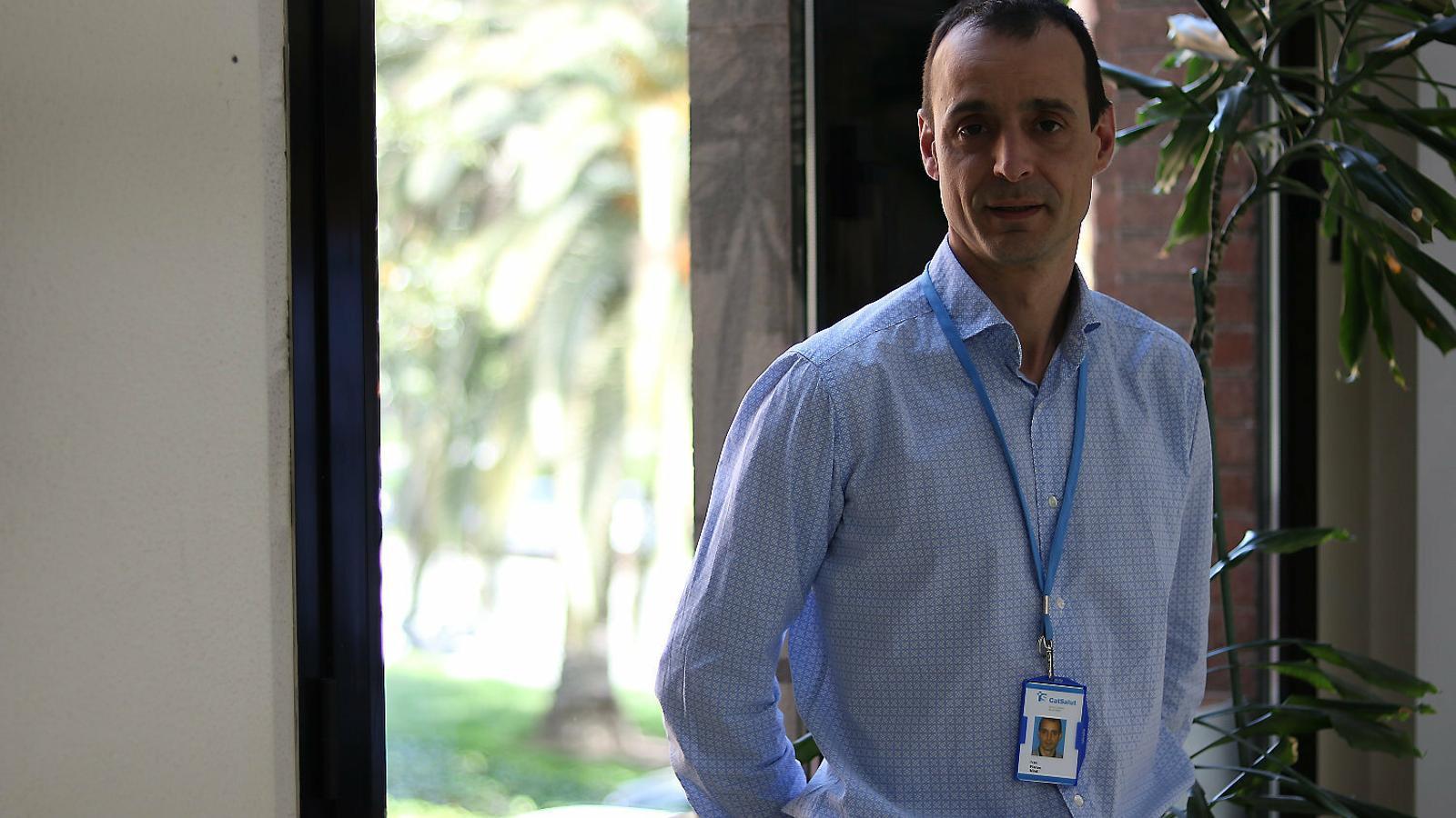 """Ivan Planas: """"Ens plantegem compensar econòmicament l'esforç dels sanitaris"""""""