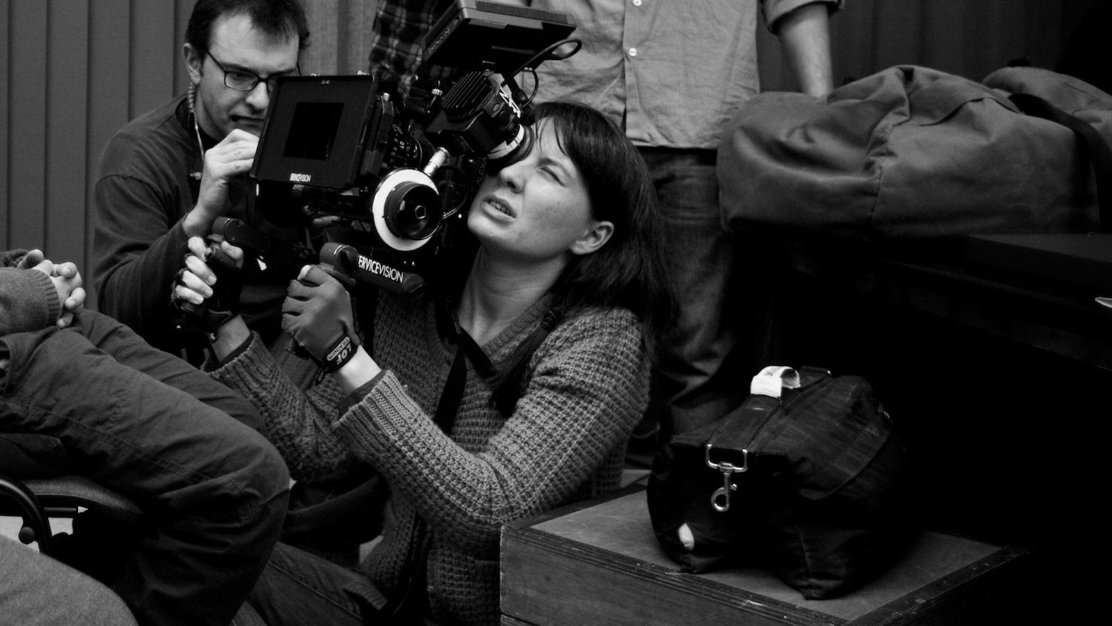 Bet Rourich durant un rodatge