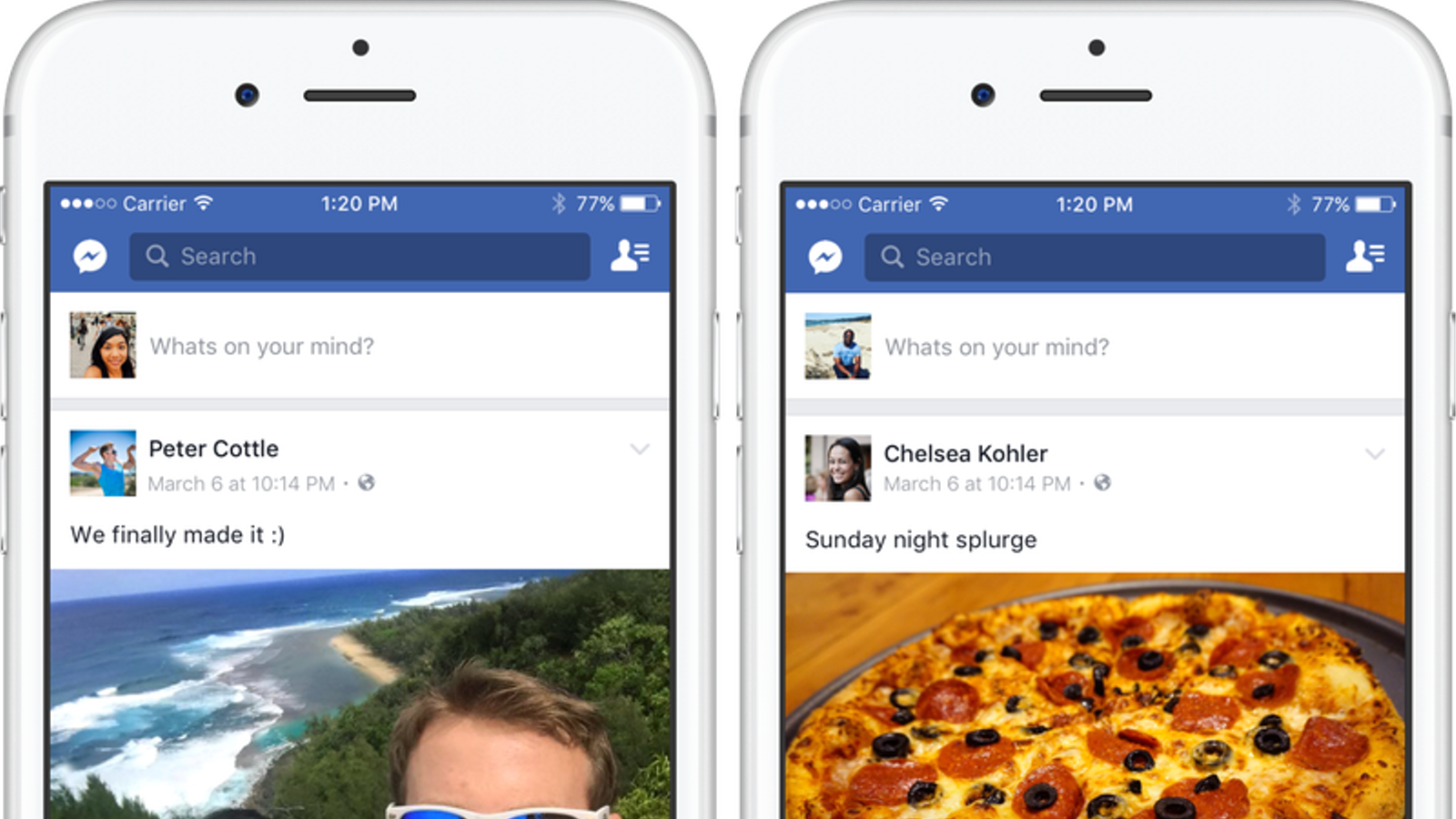 El sistema d'etiquetatge automàtic de Facebook, en acció. / FACEBOOK