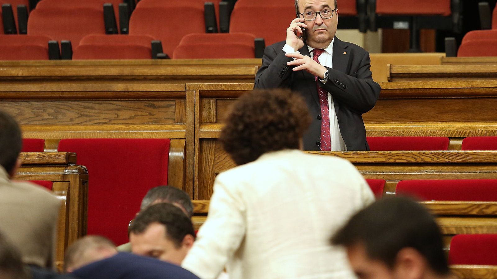 Iceta no pactarà els comptes catalans sense acord a l'Estat