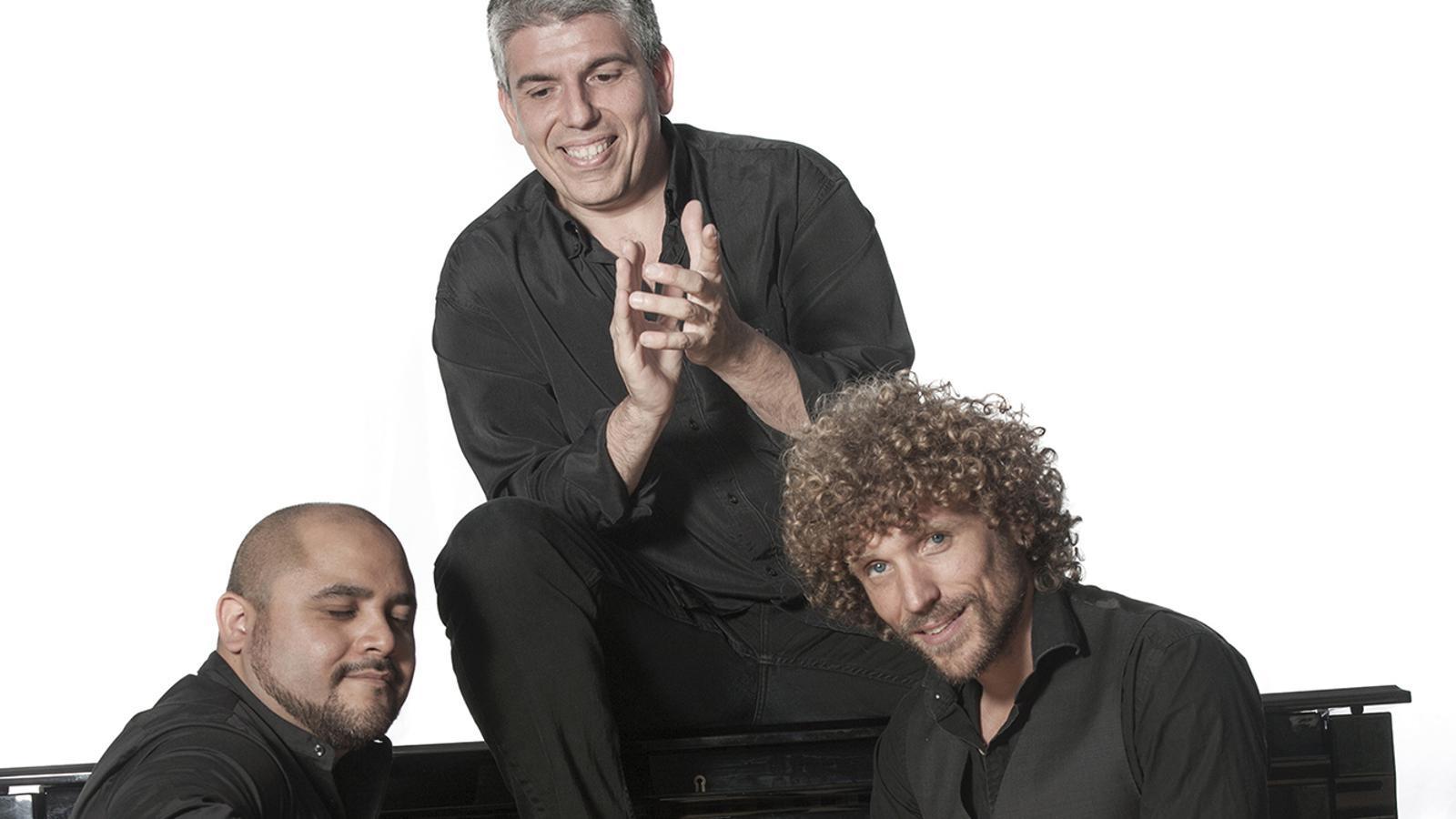 Jordi Barceló, Manuel Alonso i Pablo Gómez actuaran aquest dimecres al Pas de la Casa. / COMÚ D'ENCAMP