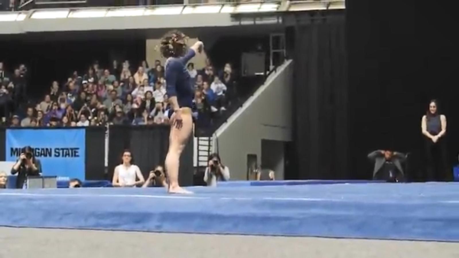 L'exercici de la gimnasta Katelyn Ohashi que s'ha fet viral a les xarxes