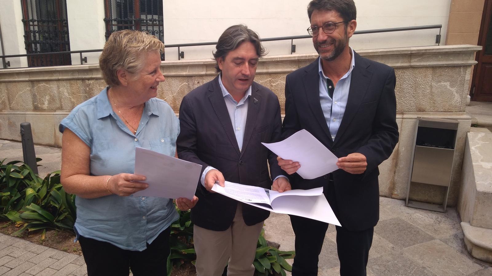 Catalina Serra, Mauricio Rovira i Antoni Amengual