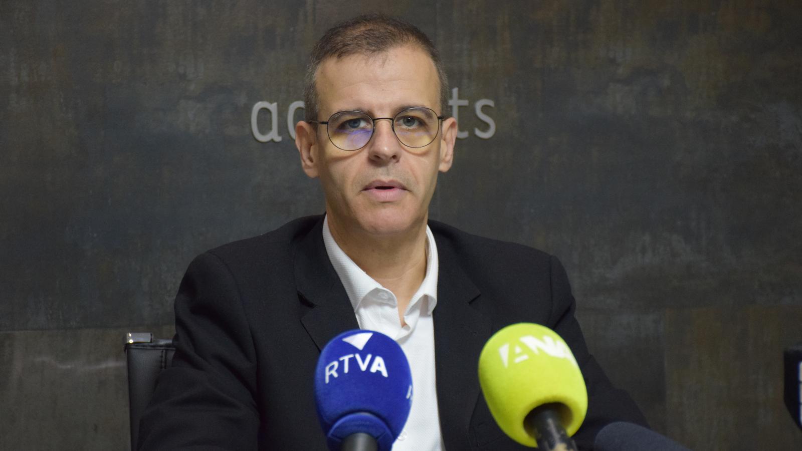Josep Antoni Silvestre torna a carregar contra el sistema judicial andorrà. / C. A. (ANA)