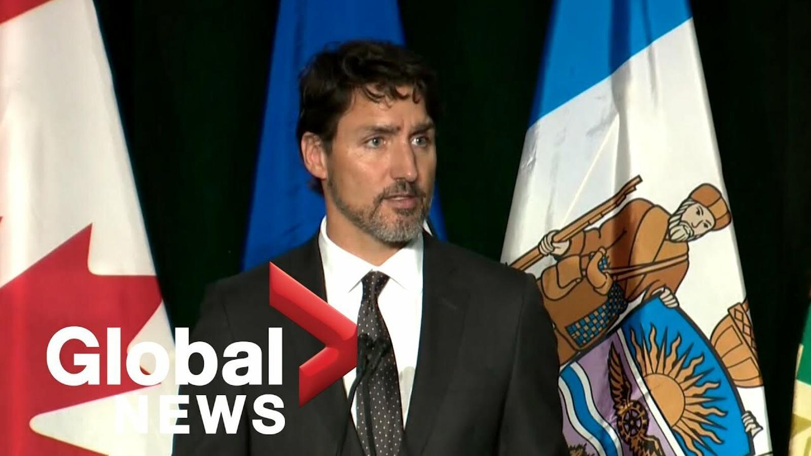 Justin Trudeau parla en memòria de les víctimes del Boeing 737 de l'Iran