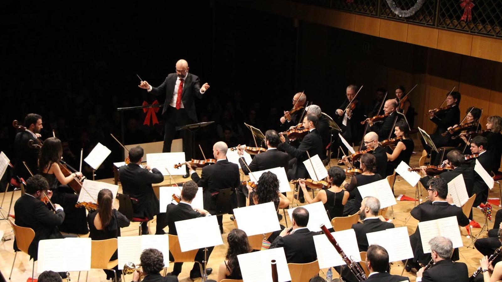 El Concert de Cap d'Any celebrat l'1 de gener d'aquest any sota la batuta de Marzio Conti. / ARXIU ANA