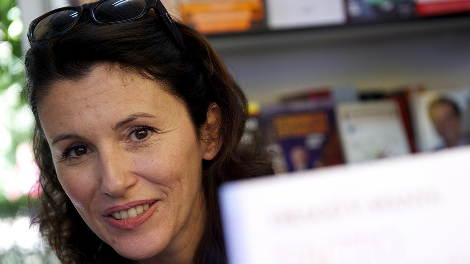 Ayanta Barilli, finalista del Premi Planeta