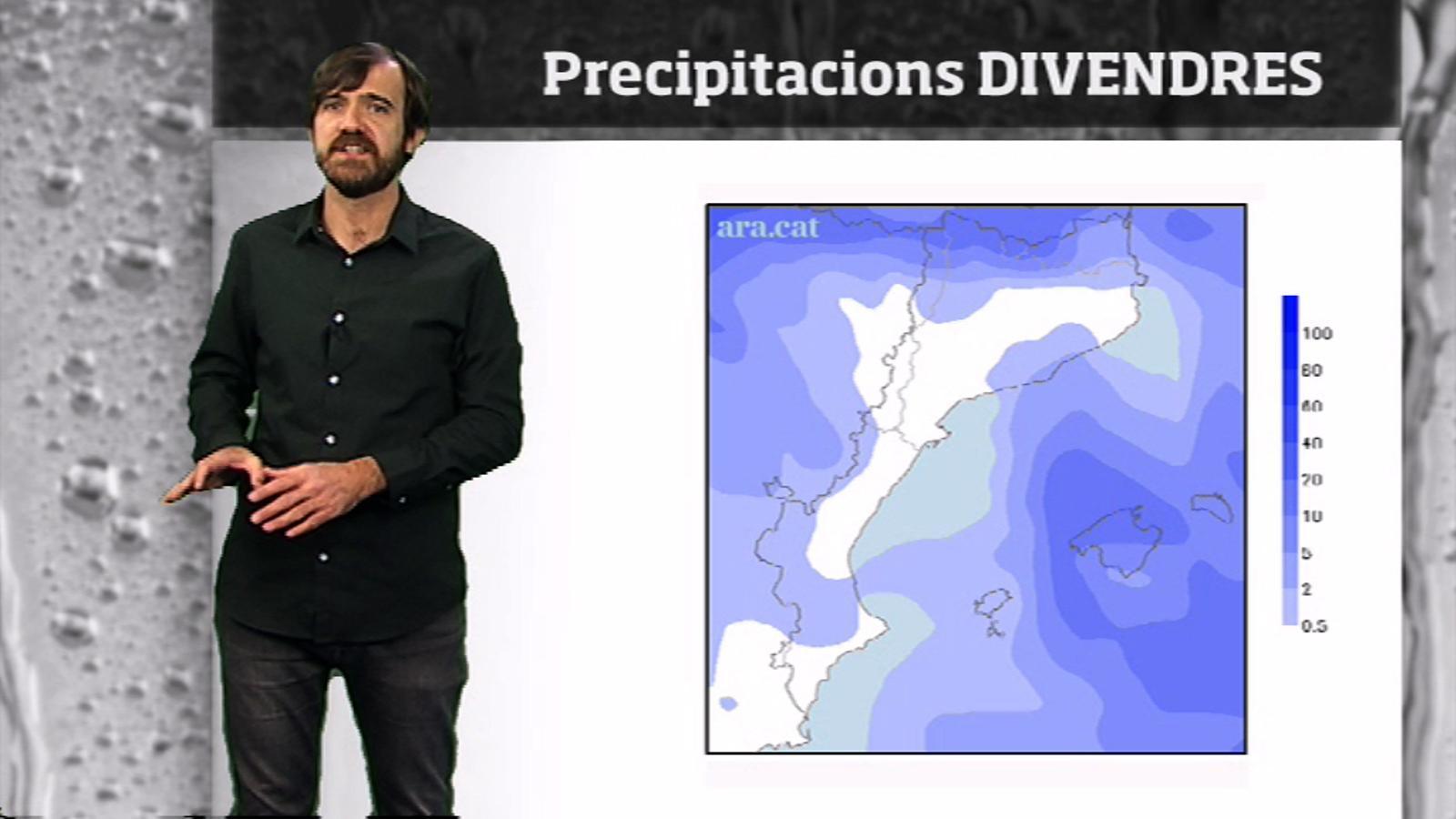 Méteo especial: nevada abundant al Pirineu... i neu a la costa?