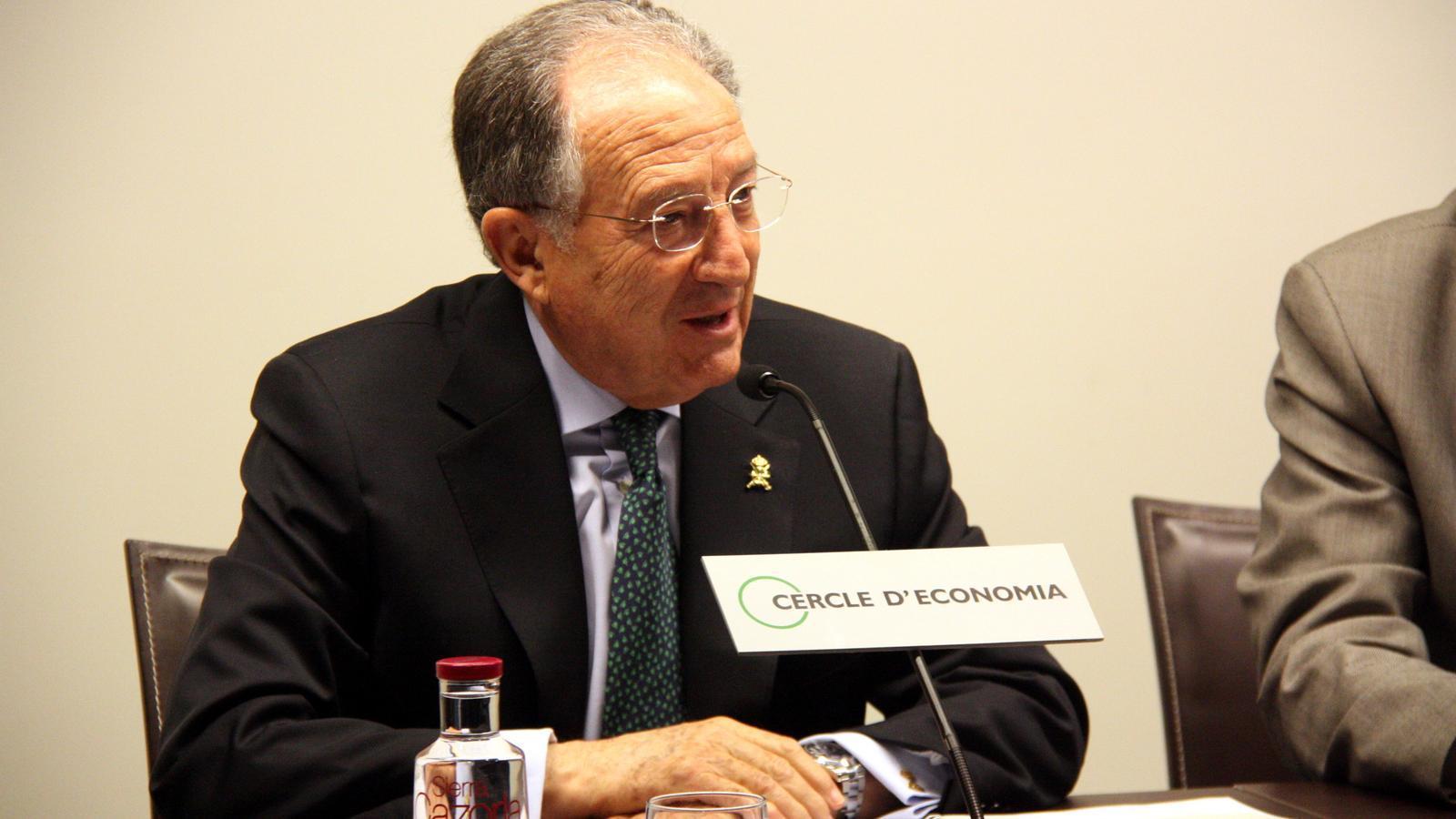 El director del CNI, Félix Sanz Roldán, en una imatge d'arxiu