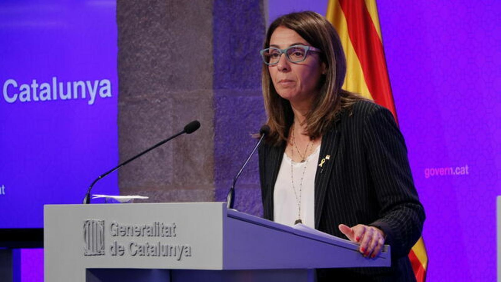 """El Govern expressa el """"malestar"""" a Torrent pel canvi de data del ple que ha de debatre sobre l'autodeterminació"""