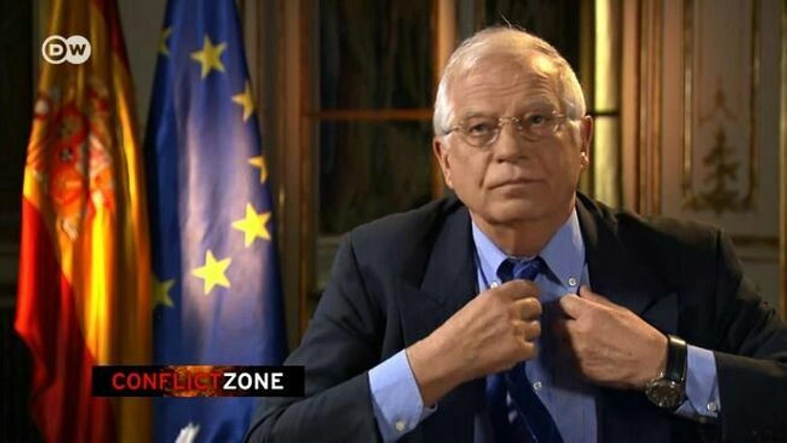 Borrell, nou responsable de la diplomàcia europea